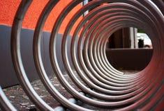 Czerep metal spirala Fotografia Royalty Free