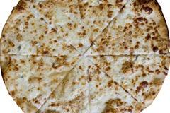 Czerep pizza z serem Zdjęcie Stock
