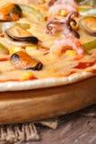 Czerep pizzy Ai Frutti Di Klacz vertical Obraz Royalty Free