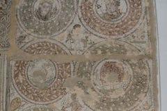 Czerep Romańska mozaika El Jem, Tunezja Obrazy Stock