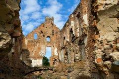 Czerep ruiny rezydencja ziemska Zdjęcie Stock