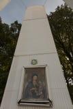 Czerep stary śródpolny ołtarz w góry St Anna w Polska obrazy stock