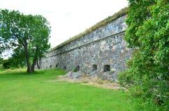 Czerep wyspa forteczny Suomenlinna blisko Helsinki w Finlandia obrazy stock
