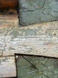 czerepu domowa stara szalunku ściana Obrazy Stock