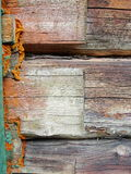 czerepu domowa stara szalunku ściana Zdjęcia Royalty Free