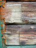 czerepu domowa stara szalunku ściana Obraz Stock