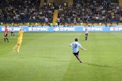 czerepu futbolowy dopasowanie Zdjęcie Stock