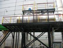 czerepu przemysłowa infrastruktury zbiornika woda Obrazy Royalty Free