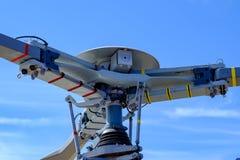 Czerepu śrubowy silnik helikopter obrazy stock
