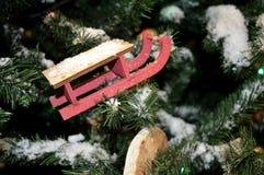 Czerepy nowego roku drzewo Fotografia Royalty Free