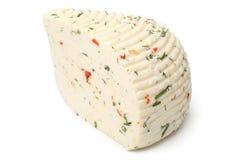Czerkiesa ser z ziele i papryką Zdjęcia Stock