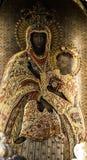 CZERNA, POLÔNIA, o 22 de novembro de 2015 : Polônia - monastério de Disca Fotos de Stock