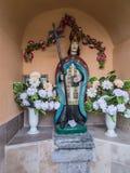 Czerna, Poland, November 22, 2015 .: Wayside chapel in Czerna ne Royalty Free Stock Photos