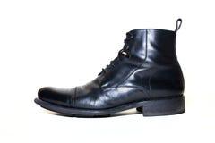 czernić lewy but zdjęcie stock