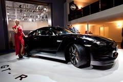 czernić samochodu gt Nissan r sport Obrazy Stock