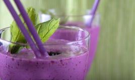 czernicy nowa smoothie truskawka Zdjęcie Stock