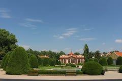 Czernin宫殿庭院  免版税库存照片