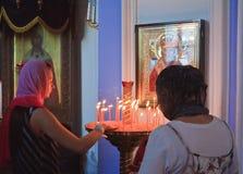 2007 23 czerwca Jerusalem klasztor nowego Rosji Istra przypuszczenia katedralna dmitrov Kremlin Moscow pocztówkowa regionu Russia Obrazy Stock