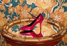 czerwień but Obraz Royalty Free