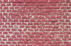 czerwień ceglasta ściany Obrazy Stock