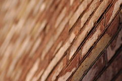 czerwień ceglasta ściany Fotografia Royalty Free