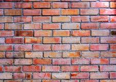 czerwień ceglasta mur tło Zdjęcie Royalty Free