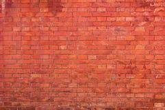 czerwień ceglasta mur tło Zdjęcia Stock