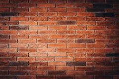 czerwień ceglasta tekstury ściany Obraz Stock