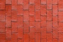 czerwień ceglasta tekstury ściany Zdjęcia Stock