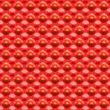 czerwień deseniowa czerwień Fotografia Stock