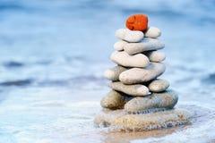 czerwień kamień Fotografia Stock