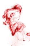 czerwień krwionośny dym obrazy stock
