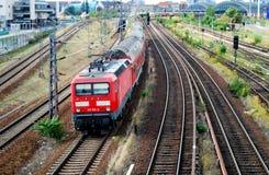 czerwień pociąg Obraz Stock