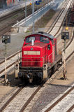 czerwień pociąg Zdjęcie Stock