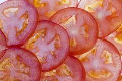 czerwień pokrajać pomidoru Obrazy Royalty Free
