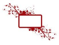 czerwień tło czerwień Obraz Stock
