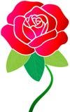 czerwień wzrastał Obrazy Royalty Free