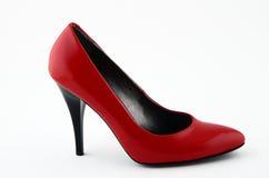 czerwień but Obrazy Stock