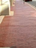 czerwień ceglasta chodnika Zdjęcie Stock