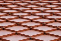 czerwień dach Fotografia Royalty Free
