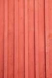 czerwień drewniana Obrazy Royalty Free