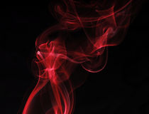 czerwień dym Obrazy Stock