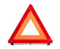 czerwień przeciwawaryjny znak Obrazy Stock