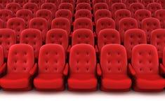 czerwień sadza teatr Obraz Royalty Free