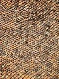 Czerwień stary dach Zdjęcie Stock
