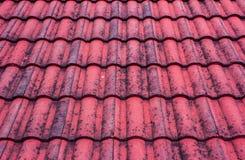 czerwień stary dach Zdjęcie Royalty Free