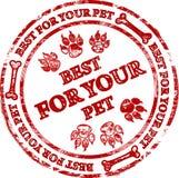 czerwień znaczek Obraz Royalty Free