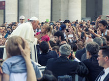 Czerwiec 14, 2015 Ecclesial kongres diecezja Rzym zdjęcia royalty free