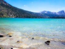 Czerwiec jezioro Kalifornia Fotografia Stock