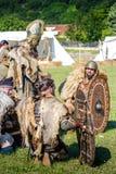 10-11 2017 Czerwiec Vienne, Francja rzymianów dni historyczny festiwal Fotografia Stock